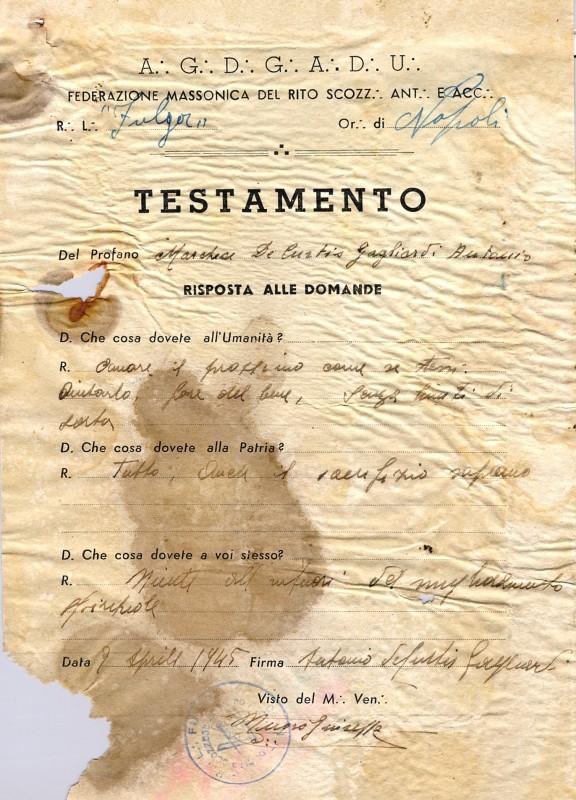 Frasi Di Natale Massoniche.La Livella Loggia Giordano Bruno