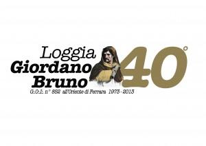 loggia Giordano logo 40 anni OK