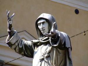 Savonarola statua