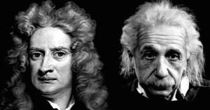 Newton Einstein