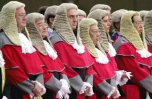 giudici inglesi